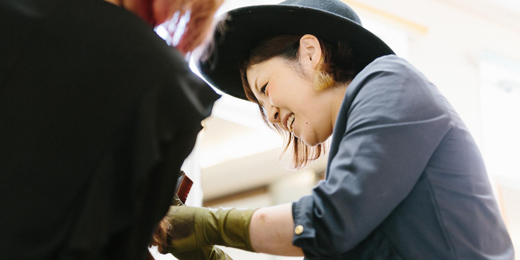 石川県七尾市のヘアサロン「ヘアシーク」スタイリスト募集中